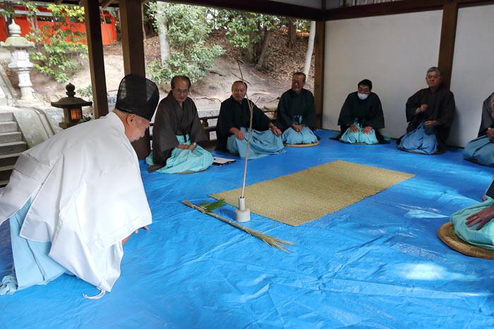 中山八幡神社 おんだ祭3