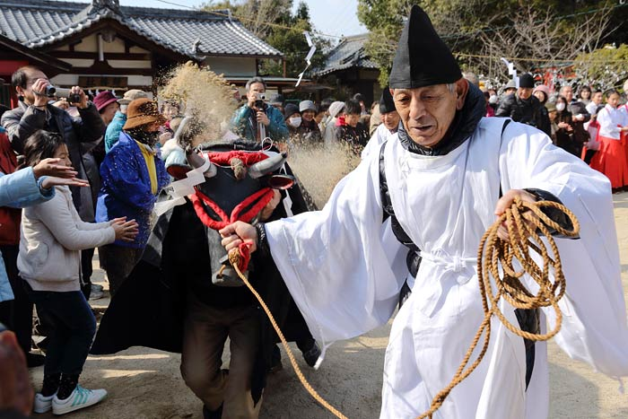 小泉神社 御田植祭1