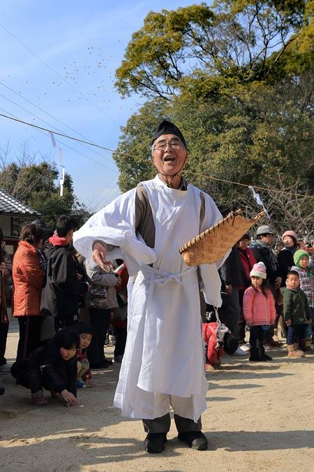 小泉神社 御田植祭3