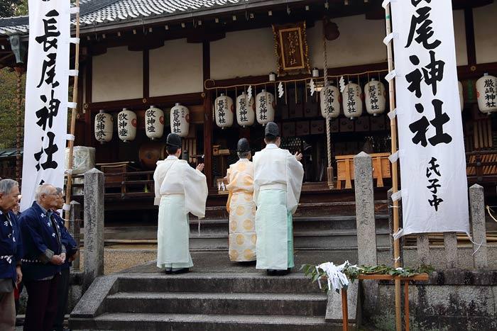 長尾神社 おんだ祭1