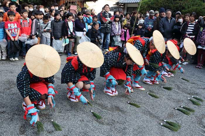 長尾神社 おんだ祭3