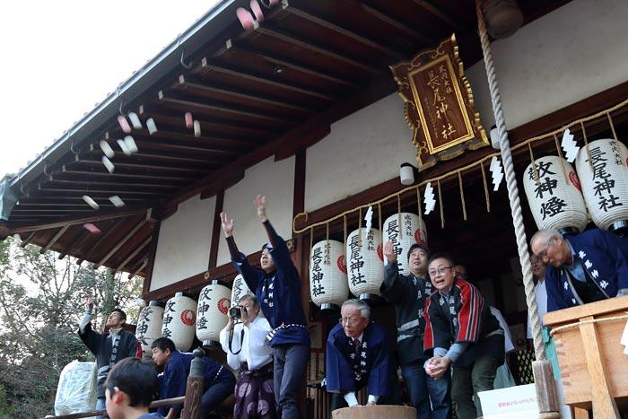 長尾神社 おんだ祭5