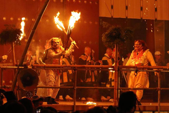 薬師寺 花会式2