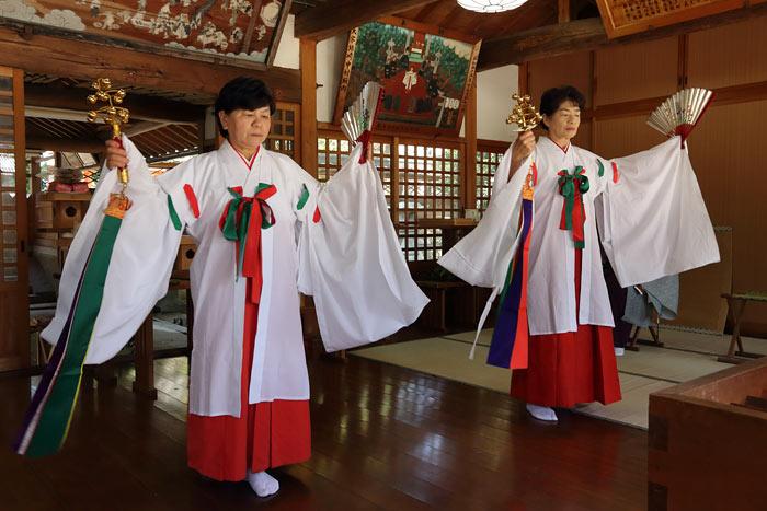糸井神社 太太神楽2