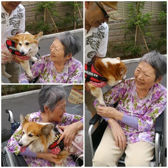 おばあちゃん、大好きでちゅ