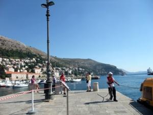 クルーズ243クロアチア:ドブロブニク港