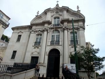 リスボン:サントアントニオ教会