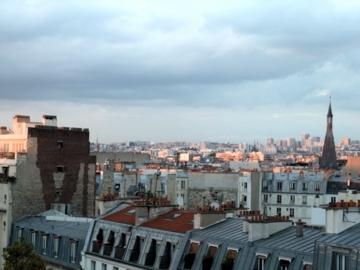 パリ19眺望
