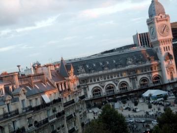 パリ20リヨン駅