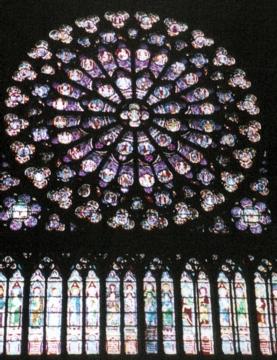 パリ27バラ窓