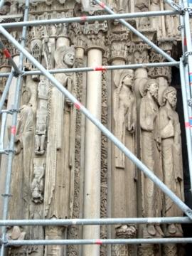 パリ32シャルトルノートルダム大聖堂