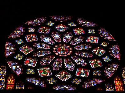 パリ33バラ窓シャルトル