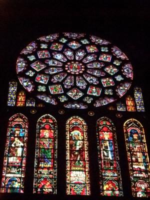 パリ38北バラ窓シャルトル