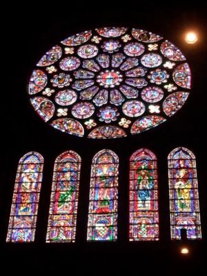 パリ39南バラ窓シャルトル