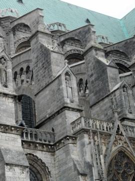 パリ45シャルトル大聖堂南
