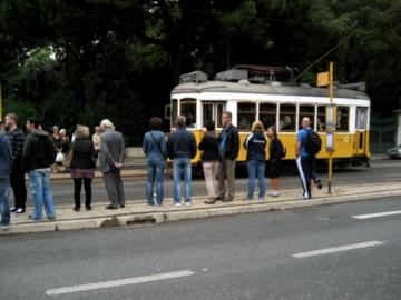ポルトガル026路面電車