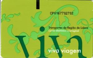 ポルトガル034切符