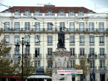 ポルトガル035カモンイス広場