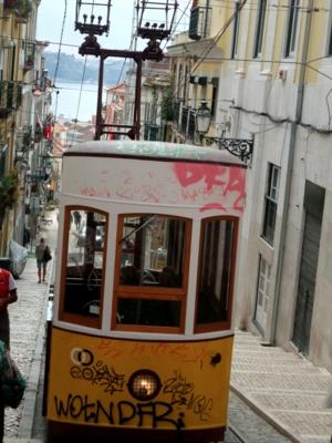 ポルトガル046ケーブルカー