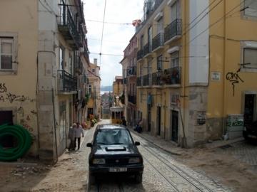 ポルトガル047ケーブルカー