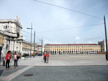 ポルトガル054コルメシオ広場