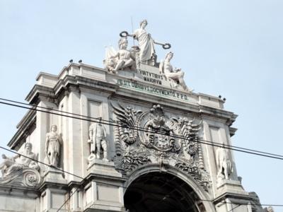 ポルトガル055コルメシオ広場