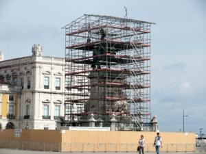 ポルトガル056コルメシオ広場