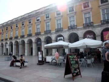ポルトガル057コルメシオ広場