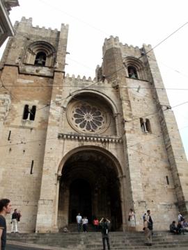 ポルトガル060リスボン大聖堂