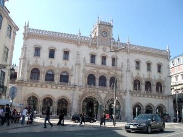 ポルトガル067ロシオ駅