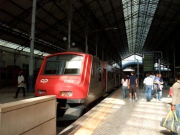 ポルトガル070ロシオ駅