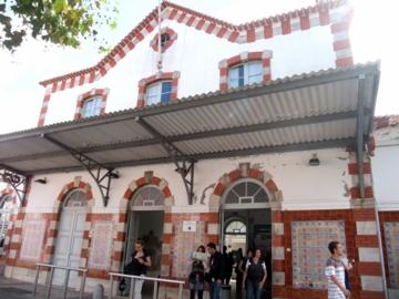 ポルトガル072シントラ駅