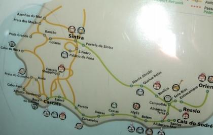 ポルトガル069ロシオ駅