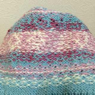 編み込み帽子2