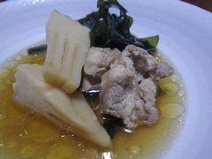 [写真]鶏肉入り若竹煮