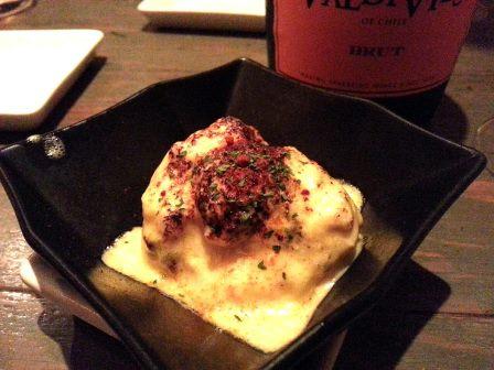 渋谷「富士屋本店ワインバー」のロシア風ポテトサラダ