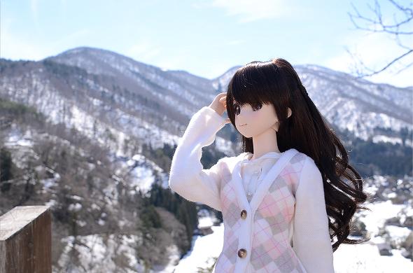 小隠里@残雪の白川郷へ