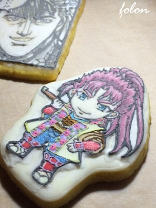 劇画調クッキー♪05