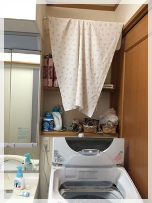 洗濯機上BEFORE