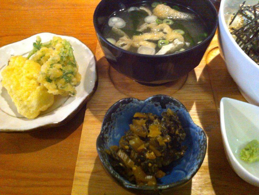 ほっぺ薬味丼2