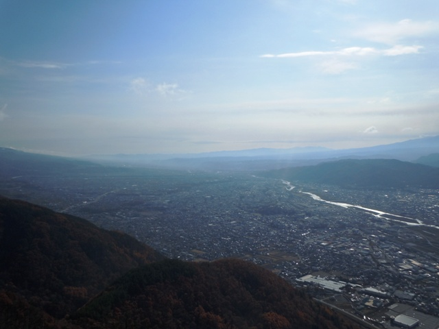 虚空蔵山からの景色①