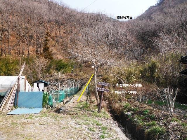 物見城(村上連珠砦群) (1)