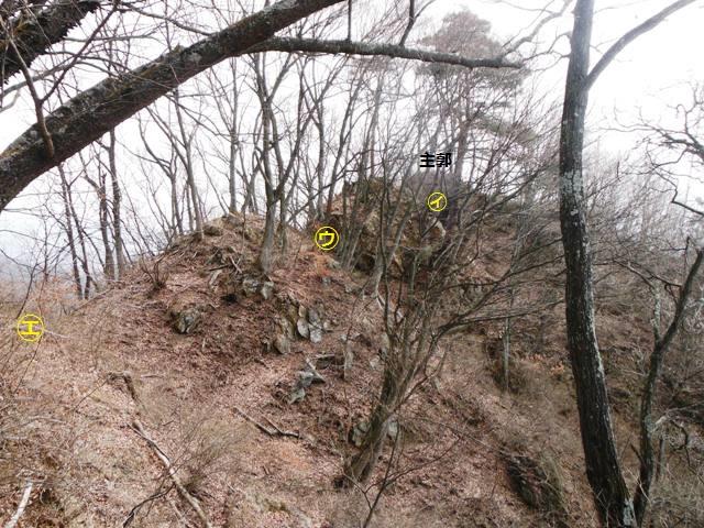 ケムリの城(村上連珠砦群) (9)