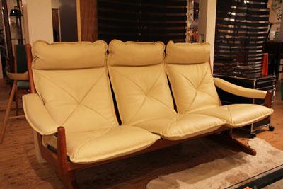 リードモブラー 3Pソファ 北欧家具