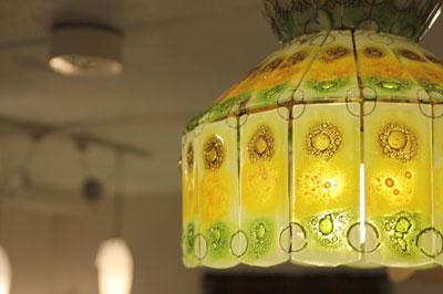Higgins ヒンギス ガラス作家 ヴィンテージ 照明