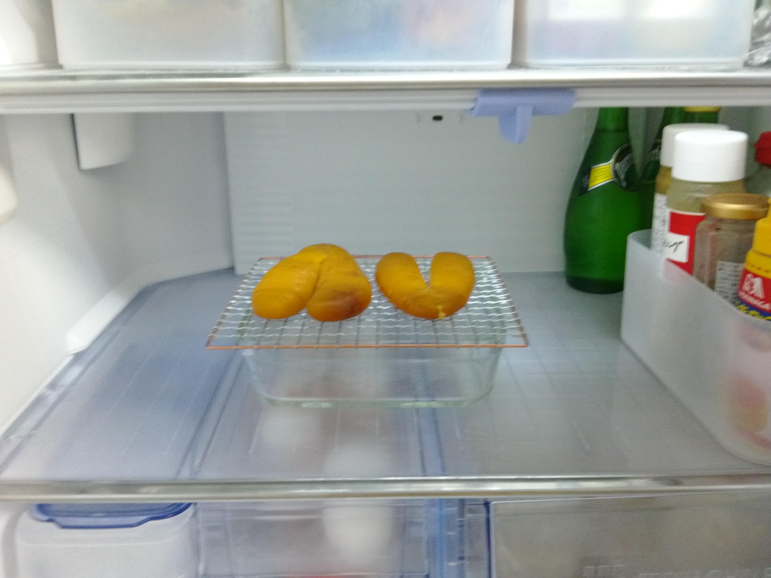雨の日は冷蔵庫