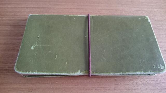 古い仕分け財布
