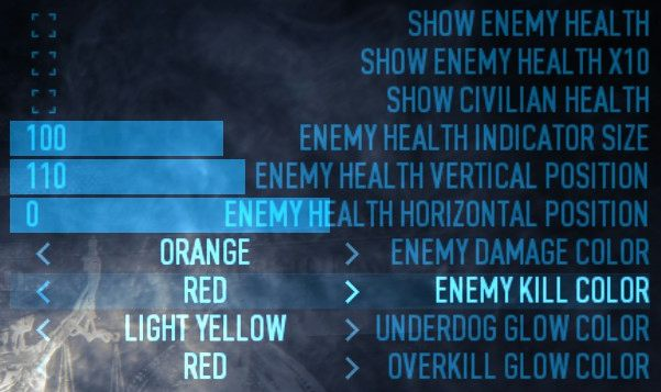 ENEMY HEALTH