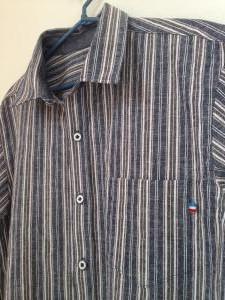 ストライプメンズシャツ2