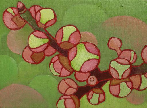 梅のつぼみ